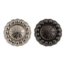 Пуговицы металлические    20 ' ( 12 мм)  1 шт