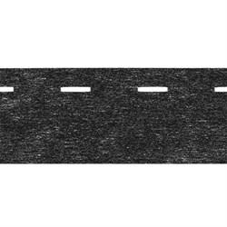 Клеевая корсажная лента 10-30   4 см  черный   1 м