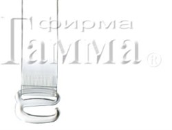 Бретели для бюстгальтеров 'Gamma' 15 мм  1 пар