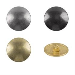 Пуговицы металлические    24 ' ( 15 мм)  1 шт