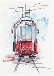 Набор для вышивания 'PANNA' ГМ-1923   'Городской трамвай'