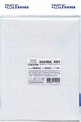 Канва Aida 11 белая 30х40 см  1 шт