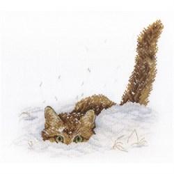 """""""Кот в снегу""""  """"М.П.Студия"""" НВ-557"""