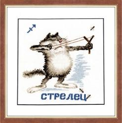 """Знак зодиака """"Стрелец""""  """"Золотое руно""""  ВЛ-009"""