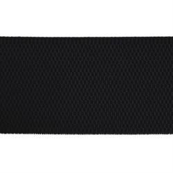 Лента эластичная 70 мм  черная  1м