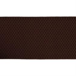 Лента эластичная 70 мм  коричневая  1м