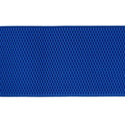 Лента эластичная 70 мм  васильковая  1м