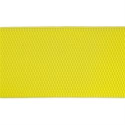 Лента эластичная 70 мм  лимонная  1м