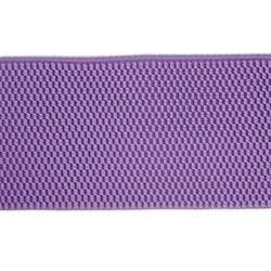 Лента эластичная 70 мм сиреневая  1м