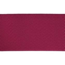 Лента эластичная 70 мм  малиновая  1м