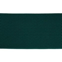 Лента эластичная 70 мм  темно-зеленая  1м