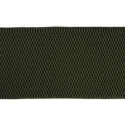 Лента эластичная 70 мм  оливковая  1м