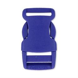 Пряжка-замок (фастекс) 32 мм  1шт. ярко-синий