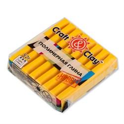 """Полимерная глина """"Craft&Clay"""" желтый"""