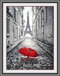 """Набор для вышивания  'В Париже дождь' 20х29 см """"Овен"""""""