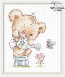 """'Мой цветочек!' 12х14 см """"Чудесная игла"""""""""""