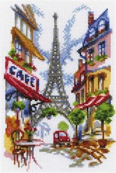 "'Уютный уголок Парижа' 15х23 см ""РТО"""