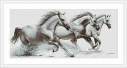 """""""Белые лошади""""   """"Luca-S""""  G495"""