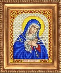 """Основа для вышивки """"Богородица Умягчение злых сердец"""" """"Благовест""""  И-5016"""