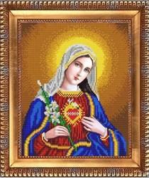 """Основа для вышивки бисером """"Открытое сердце Марии"""" """"Благовест"""" К-4032"""