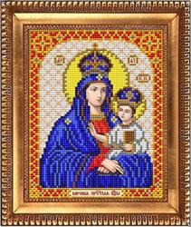 """Основа для вышивки  бисером  """"Пресвятая Богородица Барская"""" """"Благовест""""  И-5044"""