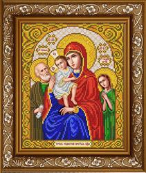 """Основа для вышивки  бисером  """"Пресвятая Богородица Трех Радостей""""  'Славяночка' ИС-4054"""
