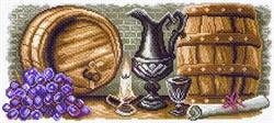 """Рисунок на канве """"Винный погребок""""  """"Матренин Посад"""" 1574"""