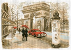 "Рисунок на канве ""Париж""  ""Матренин Посад"" 1756"