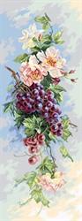 """Рисунок на канве """"Виноградная лоза"""" """"Матренин Посад"""" 1820"""