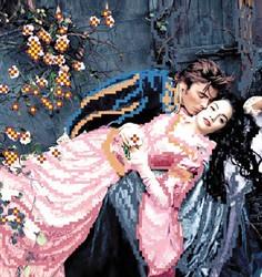 """Основа для вышивки бисером """"Ромео и Джульетта"""" """"Матренин Посад"""" 4216"""