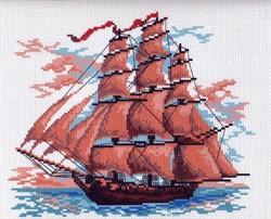 "Рисунок на канве ""Алые паруса""  ""Матренин Посад"" 0364-1"