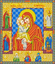 """Основа для вышивки бисером """"Почаевская икона Божией Матери"""" """"Каролинка"""" КБИ - 3047"""