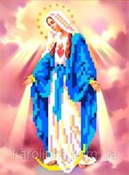 """Основа для вышивки бисером """"Св. Дева Мария Непорочного Зачатия"""" """"Каролинка""""  КБИ - 5031"""