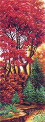"Рисунок на канве ""Багрянец""  ""Матренин Посад"" 1357"
