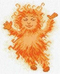"""Рисунок на канве """"Лучик света"""" """"Матренин Посад"""" 1618"""