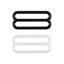 Регулятор ленты 22 мм  (черный) 10 шт