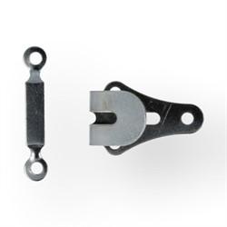 Крючок для брюк пришивной металлический 1 компл.