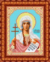"""Основа для вышивки бисером  """"Святая мученица Татьяна"""" """"Каролинка"""" КБИ-5048\1"""
