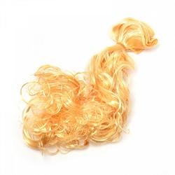 Трессы кудри B-50 см, L-30см (золотой блондин)