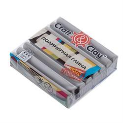 """Полимерная глина """"Craft&Clay"""" жемчужно-серый"""