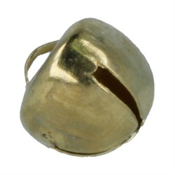Бубенчики  12 мм золото
