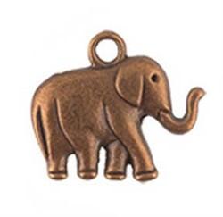 """Подвеска  """"Слон"""" античная медь"""
