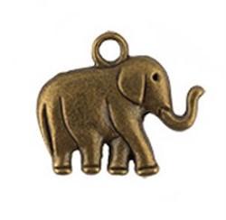 "Подвеска  ""Слон"" античная темная бронза"