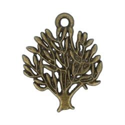 """Подвеска """"Дерево"""" античная темная бронза"""