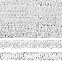 Тесьма декоративная 'Булет'  цвет: бледно-серый 13 мм  1м