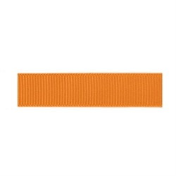 Лента репсовая 12 мм темно-оранжевый  1м