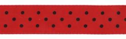 Лента атласная с рисунком 12 мм 1 м
