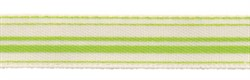 Лента атласная с рисунком 10 мм 1 м