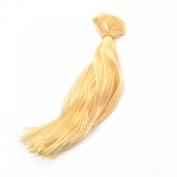 Трессы прямые  B-50 см, L-30см  (блондин)