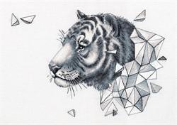 """""""Геометрия. Тигр"""" """"PANNA"""" J-7089"""